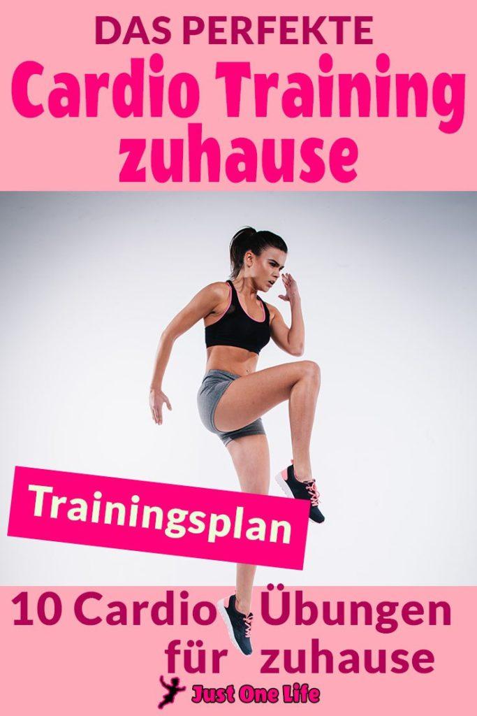 10 Übungen für das perfekte Cardio Training zuhause