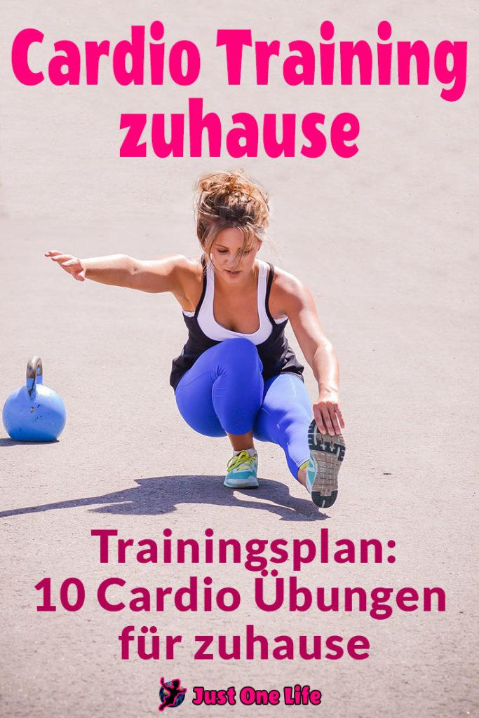Cardio Training zuhause mit Trainingsplan
