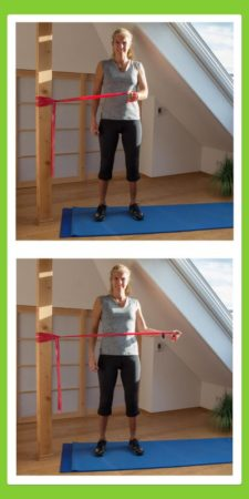 Übungen für den Rücken: Außenrotation