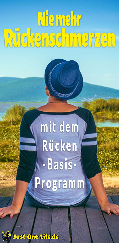 Was hilft gegen Rückenschmerzen - nie mehr Rückenschmerzen mit dem Rücken-Basis-Programm
