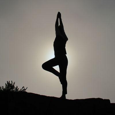 Yoga ist gut für Konzentration und Gleichgewicht