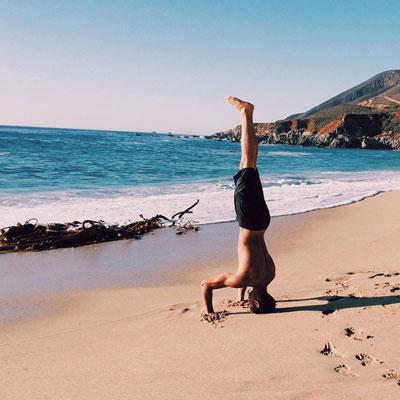 Yoga ist gut für das Körpergefühl