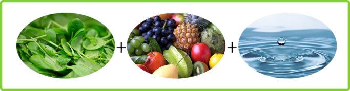 Fitness Rezepte: Abnehmen & Anti-Aging mit grünen Smoothies: Zutaten grüne Smoothies