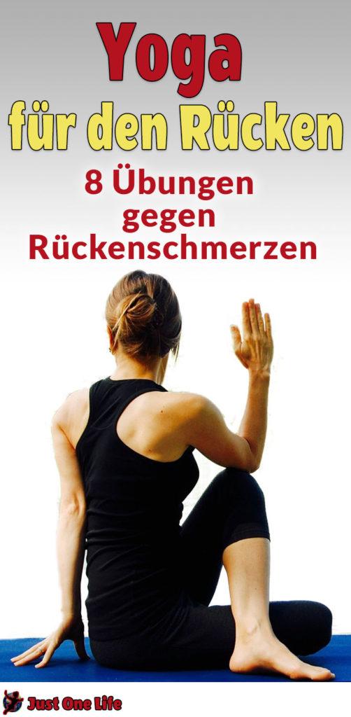 Yoga für den Rücken - diese 8 Übungen helfen gegen Rückenschmerzen