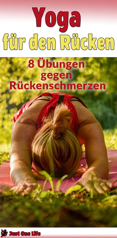 Yoga für den Rücken - 8 Übungen helfen gegen Rückenschmerzen