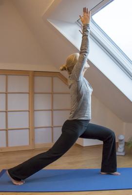 Yoga zum Abnehmen: Held 1