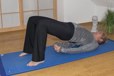Yoga zum Abnehmen: Brücke