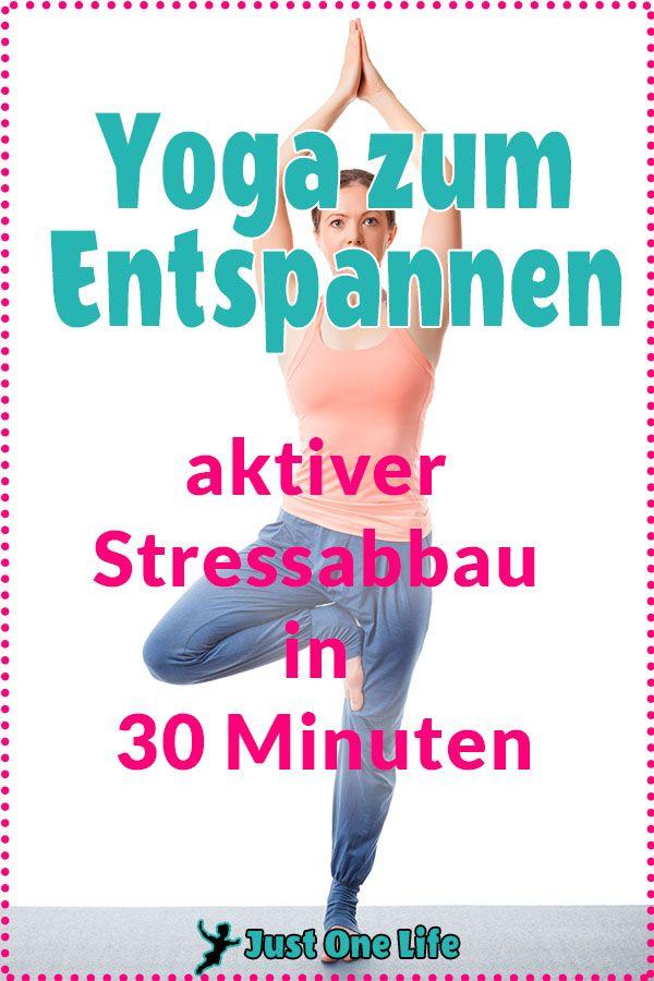 Yoga zum Entspannen und aktiven Stressabbau