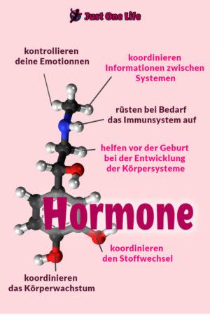 Hormone beeinflussen viele Körperfunktionen