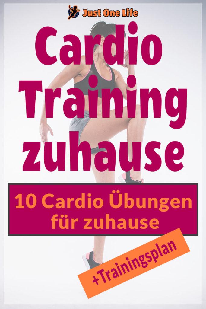 10 Übungen für das perfekte Cardiotraining zu Hause