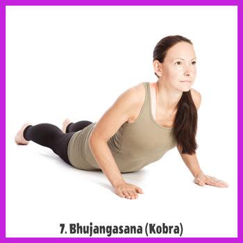 Yoga Sonnengruß - Bhujangasana / Kobra