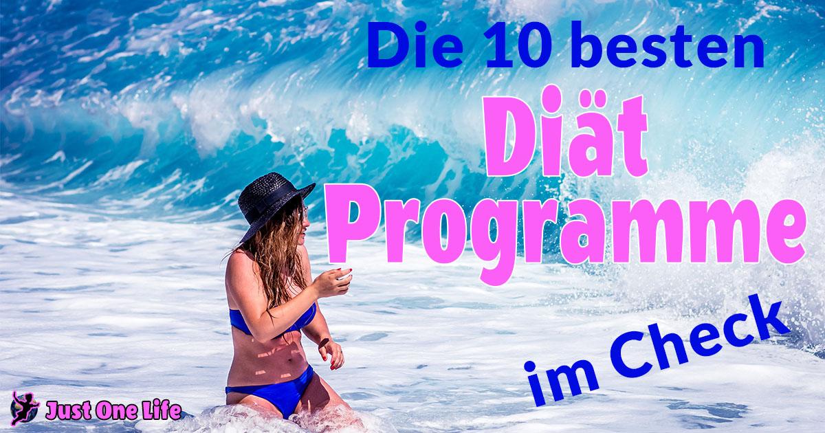 Die 10 besten Diät Programme im Check