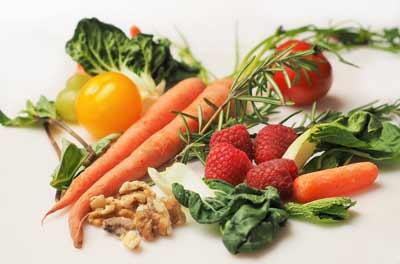 Gemuese und Obst ist gesund