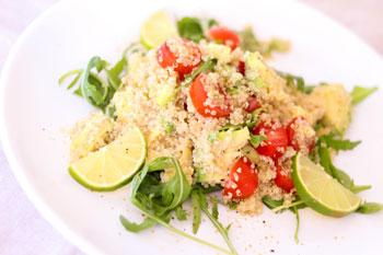 Bauchfett verbrennen mit Quinoa