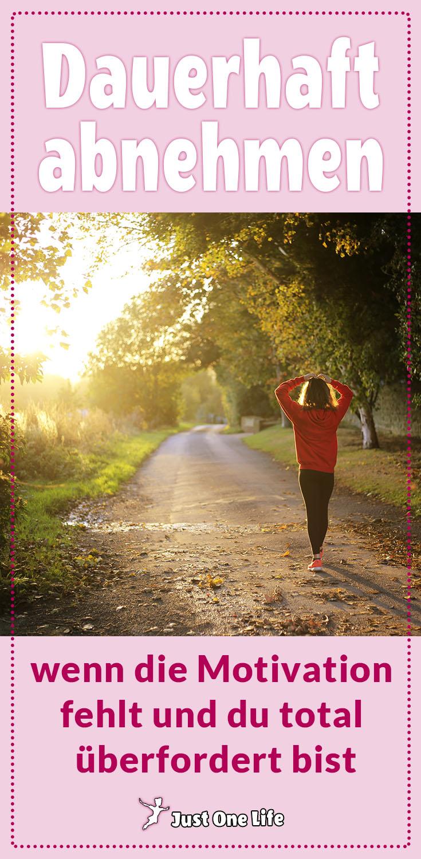 Dauerhaft abnehmen, wenn die Motivation fehlt und du total überfordert bist 2