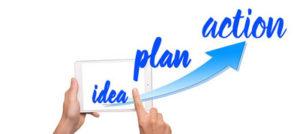 Idee - Plan - Aktion - Ziele erreichen