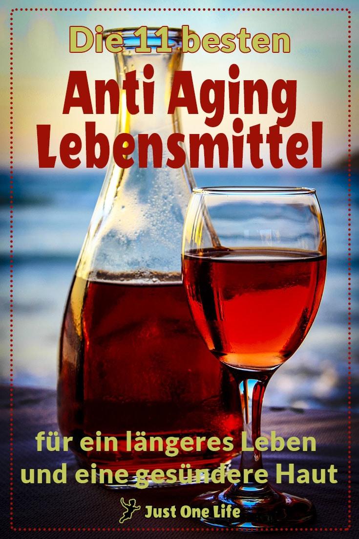 anti-aging-lebensmittel wein
