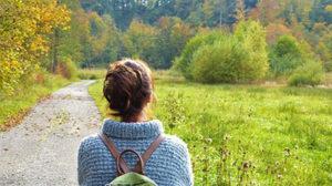 Abnehmen durch Gehen - gesunde Gewohnheit