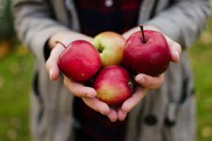 Apfelessig zum Gewicht verlieren - Äpfel