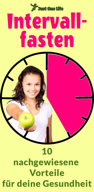 Intervallfasten mit 10 gesundheitlichen Vorteilen