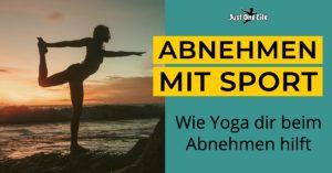Abnehmen mit Sport | Wie Yoga beim Abnehmen hilft