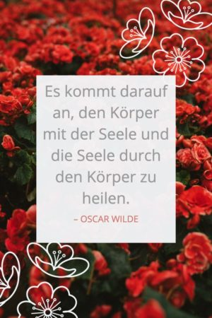 Zitat über Gesundheit von Oscar Wilde