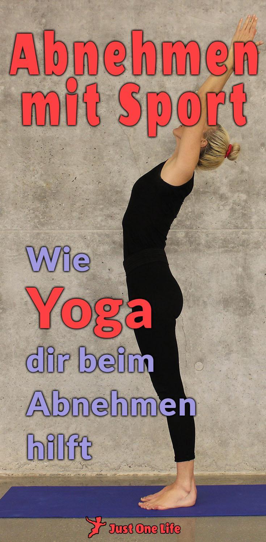 Abnehmen mit Sport - Wie Yoga dir beim Abnehmen hilft
