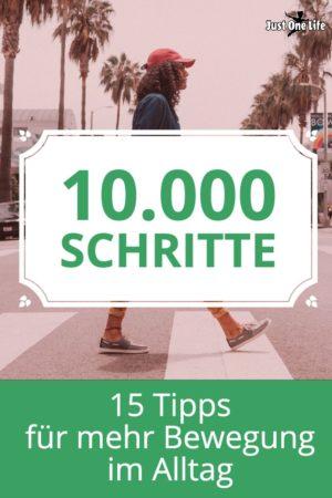 10.000 Schritte zum Abnehmen