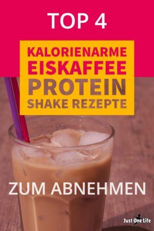 kalorienarme Eiskaffee Protein-Shake Rezepte zum Abnehmen - 3