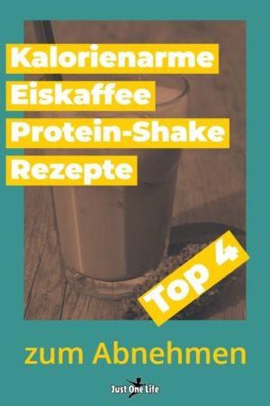 kalorienarme Eiskaffee Protein-Shake Rezepte zum Abnehmen - 2
