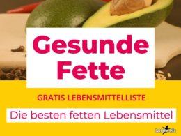 Lebensmittelliste_Omega-3-Fette - die besten Fetten Lebensmittel