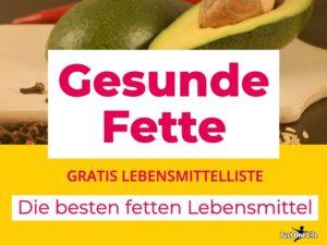Lebensmittelliste_Omega-3-Fette - die besten Fetten Lebensmiitel