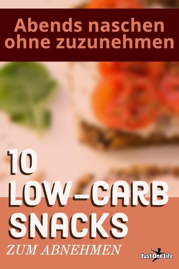 Naschen ohne Reue - 10 Low-Carb Snacks zum Abnehmen