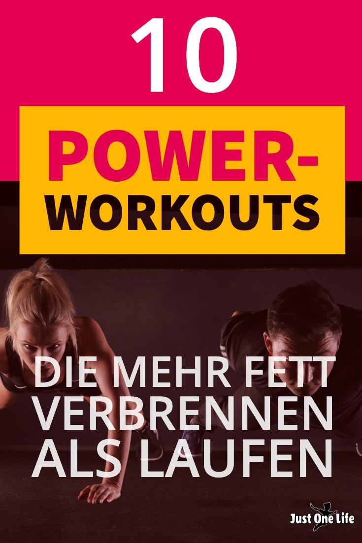 10 Power-Workouts, die mehr Fett verbrennen als Laufen