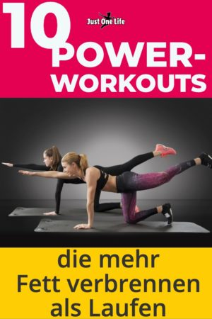 10 Power-Workouts zum Fett verbrennen
