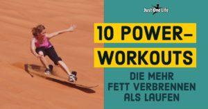 10 Power-Workouts-die mehr Fett verbrennen als Laufen