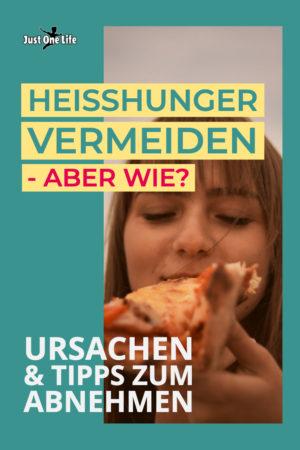 Welche Ursachen führen zu Heißhunger und was kannst du dagegen tun?