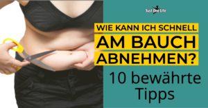 Wie kann ich am Bauch abnehmen - 10 bewährte Tipps