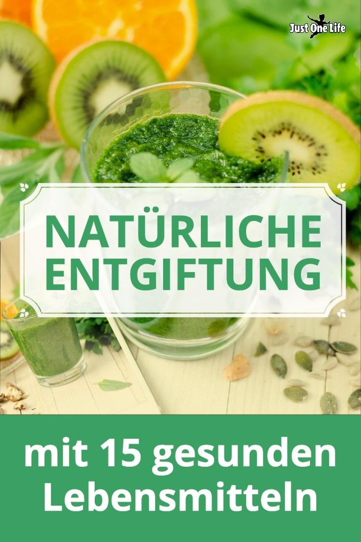 Natürliche Entgiftung mit 15 gesunden Lebensmitteln