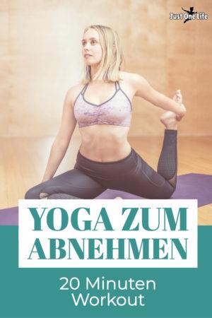 Mit dem 20 Minuten Yoga Workout abnehmen