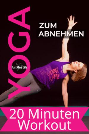 Yoga ist perfekt zum Abnehmen geeignet - mit 20 Minuten Workout