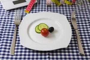 Eine Diät kann zu einem Nährstoffmangel führen