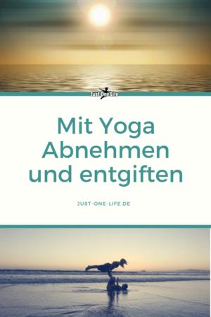 Mit Yoga abnehmen und entgiften