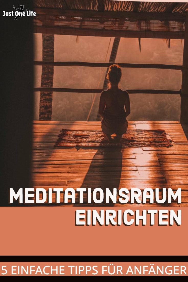 Wie kann ich mir einen Meditationsraum einrichten