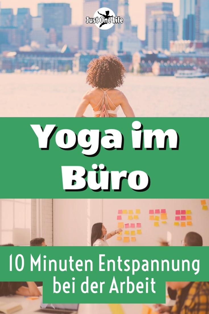 Yoga im Büro - 10 Minuten Entspannung bei der Arbeit
