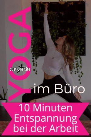 10 Minuten Yoga im Büro zur Entspannung
