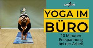 Yoga im Büro - Entspannung bei der Arbeit in 10 Minuten