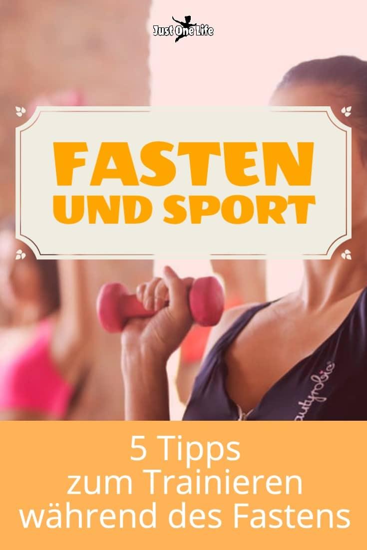 Fasten und Sport: 5 Tipps zum Trainieren während des Fastens