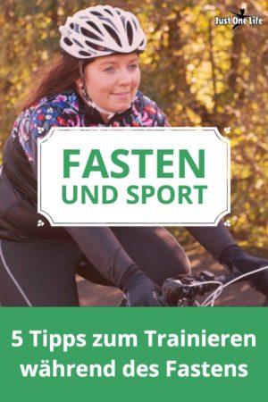 Fasten und Sport: 5 Tipps
