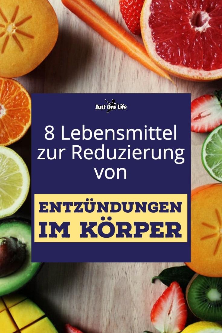 8 Lebensmittel zur Reduzierung von Entzündungen im Körper